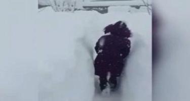 İranın Qərbi Azərbaycan vilayətinə 1 metr qar yağıb