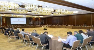 Bakıda idman jurnalistlərinin respublika toplantısı keçirilib - FOTO