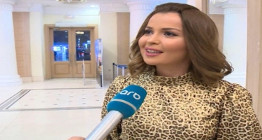 """Sevda Namiq Qaraçuxurludan danışıb ETİRAF ETDİ: """"Sevirəm"""" - VİDEO - FOTO"""