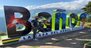 180 günlük dünya səyahəti çərçivəsində Fərid Novruzi Ekvador və Peruya səfər edib - FOTO