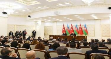 Türkiyə Prezidenti: Biz Azərbaycanın uğurları ilə fəxr edirik