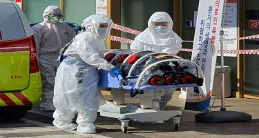 Cənubi Koreyada yeni növ koronavirusa yoluxanların sayı 1595 nəfərə çatıb