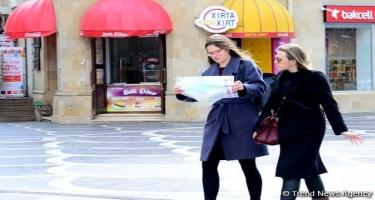 Yanvarda Azərbaycana 200 mindən çox turist gəlib