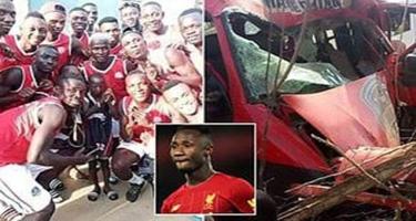 Komandanın avtobusu qəzaya düşdü, 9 futbolçu öldü