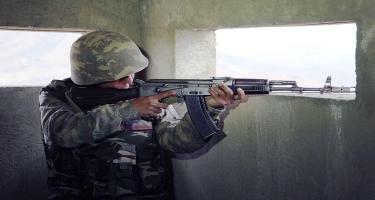 Əlahiddə Ümumqoşun Ordunun dağlıq bölmələrində möhkəm müdafiə potensialı yaradılıb - FOTO