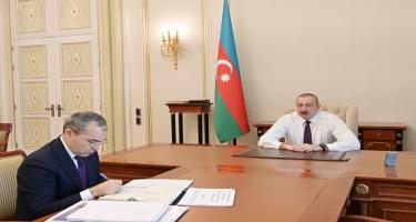 Azərbaycan Prezidenti: Çalışmalıyıq ki, daxili tələbatı maksimum dərəcədə yerli istehsalla təmin edək
