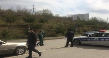 Qusar polisi tərəfindən profilaktik tədbirlər davam etdirilir - FOTO