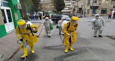 Bayılda yaşayış sahəsində dezinfeksiya işləri davam etdirilir - FOTO