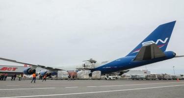 Çinin Cek Ma və Alibaba fondları COVID–19 ilə mübarizə üçün Azərbaycana tibbi humanitar yardım göndərib FOTO