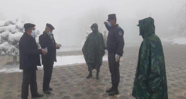 Lerikdə karantin rejiminə ciddi nəzarət olunur - FOTO
