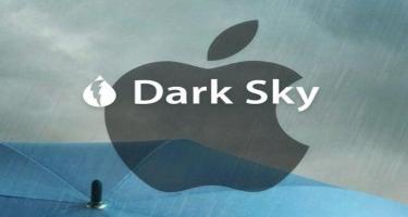 """Apple """"Dark Sky"""" hava proqnozu tətbiqini alır"""