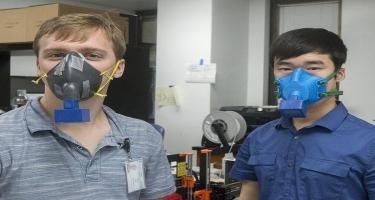 Koronavirusu aşkarlayan sensorlu maska hazırlanır