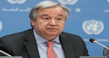 BMT-nin Baş katibi Antonio Quterreşdən Prezident İlham Əliyevə təbrik məktubu gəlib