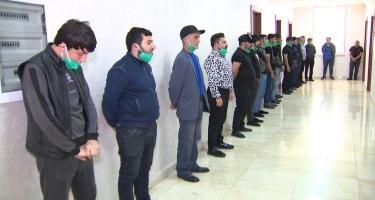 """""""Fəvvarələr meydanı""""nda fleşmob keçirənlər saxlanıldı"""