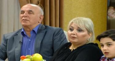 Xalq artistinin həyat yoldaşı İLK DƏFƏ efirdə - FOTO