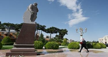 Prezident İlham Əliyev Ağcabədi rayonuna səfər edib - FOTO