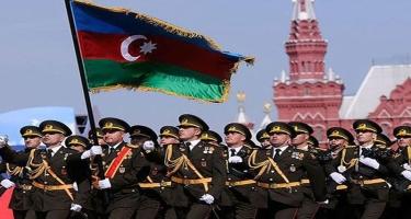 Azərbaycan hərbçiləri Moskvada keçiriləcək hərbi paradda iştirak edəcəklər