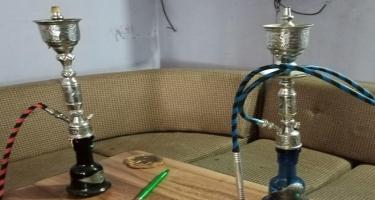 Şəmkirdə sanitar-karantin qaydalarını pozan çay evi aşkarlanıb - VİDEO - FOTO