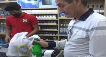 Supermarketlərdə maska ilə bağlı reydlər keçirilir - VİDEO - FOTO