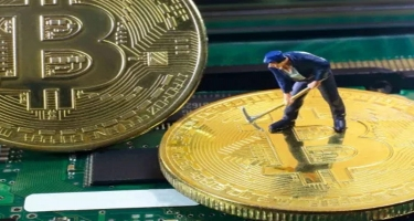 Bitcoin maynerlər mayda 366.4 milyon dollar qazanıb