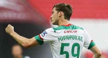 Rusiyada ayın futbolçusu seçildi