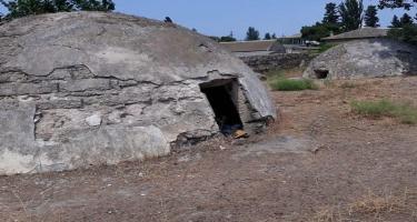 Maştağadakı tarixi hamamın təmizlənməsi işlərinə başlanılıb - FOTO