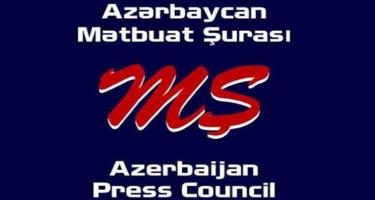 Mətbuat Şurası Azərbaycan-Ermənistan sərhədindəki vəziyyətlə bağlı məlumat yaydı