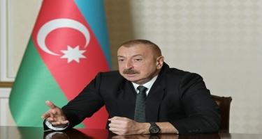Prezident İlham Əliyev: Ayın 12-də hadisələr baş verəndən sonra mən Xarici İşlər nazirini tapa bilmədim