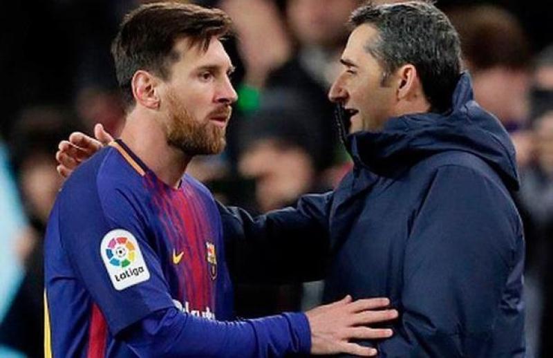 Messidən Valverdeyə vida mesajı