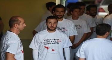 Oyuna Rusiya əleyhinə şüarla çıxdılar – gürcü futbolçulardan etiraz