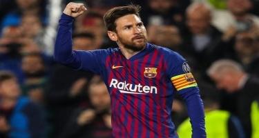 Messi qayıtdı