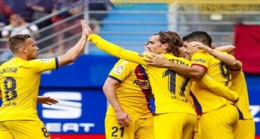 Qrizmann, Messi və Suares - Video