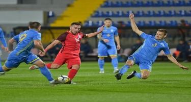 Azərbaycan - Ukrayna oyununda iki qol - Video
