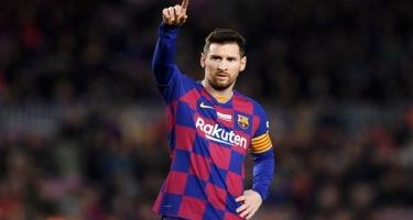 Messi het-trik sayında Ronaldonu keçdi