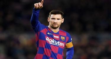 Messi İtaliyaya aparılmadı