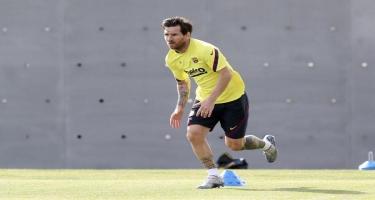 Messi ilk oyunu buraxa bilər