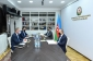 Azərbaycan-Almaniya iqtisadi əməkdaşlığı müzakirə edilib (FOTO)