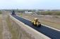 Yevlaxda 8 km uzunluğa malik avtomobil yolu yenidən qurulur (FOTO)