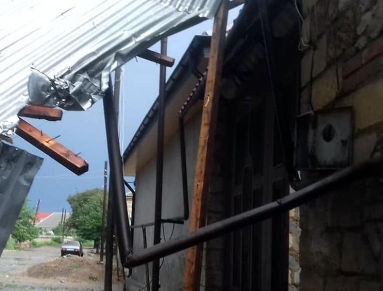 Güclü külək nəticəsində Şəmkirdə 450 abonent qazsız qaldı
