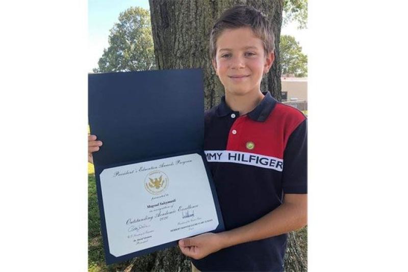 Gənc soydaşımız ABŞ Prezidentinin mükafatına layiq görülüb (FOTO)