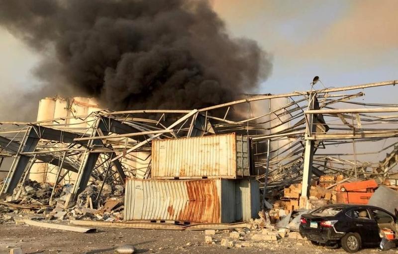 Beyrutda güclü partlayış nəticəsində ölənlərin sayı 78-ə çatıb (VİDEO) (ƏLAVƏ OLUNUB 7)