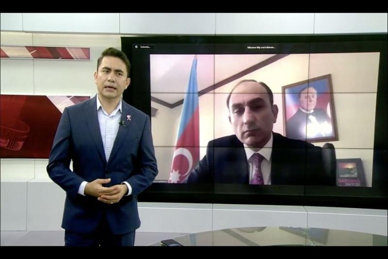 Meksikanın televiziya və radio kanallarında Ermənistanın son hərbi təcavüz aktı barədə danışılıb