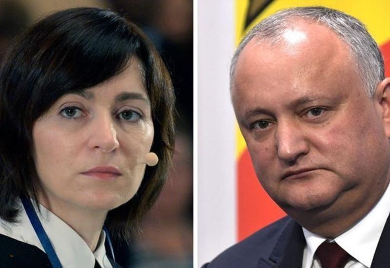 Maya Sandu Moldovada keçirilən prezident seçkilərində qalib gəlib (ƏLAVƏ OLUNUB)