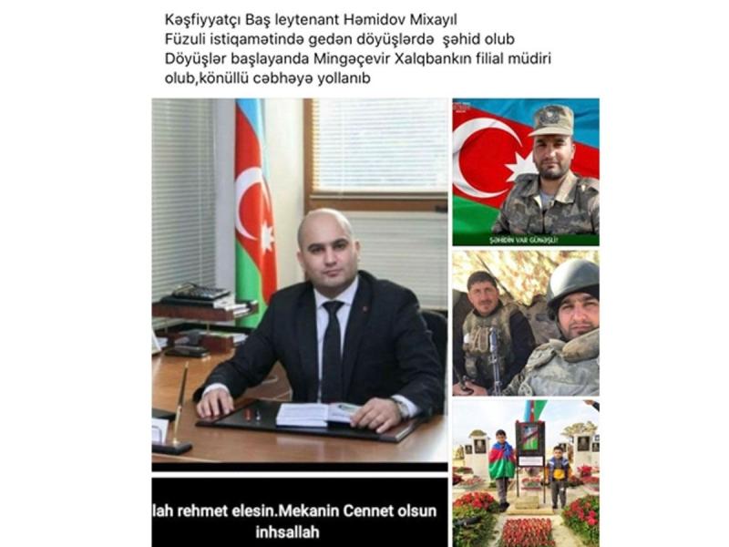 Şəhid Mixayıl Həmidovla