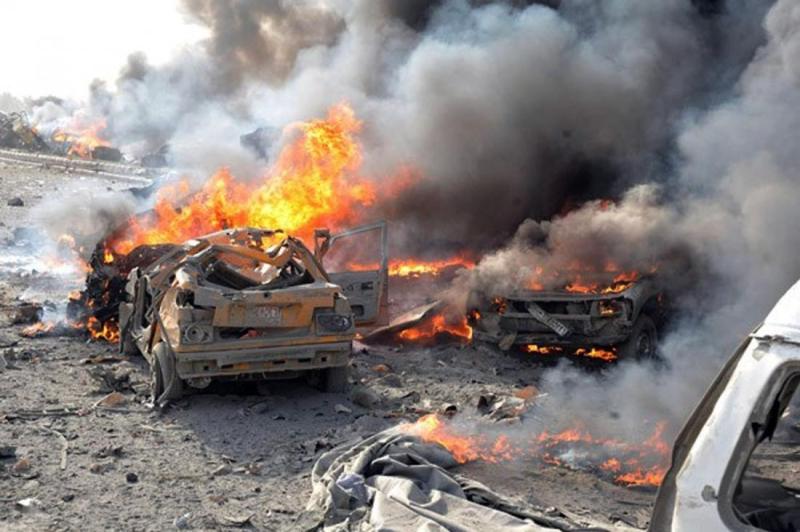 Afrində iki partlayış baş verib: 14 ölü, 35 yaralı