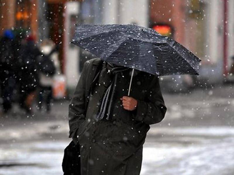 Sabah yağış, qar gözlənilir