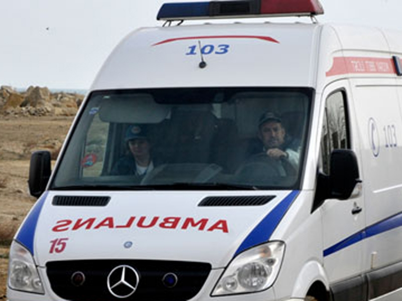 Qazaxda avtobusla vurulan qadın hadisə yerində olüb