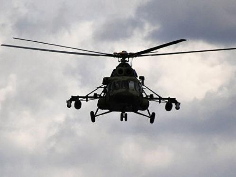 Rusiyada helikopter sərt eniş etdi - Xəsarət alanlar var
