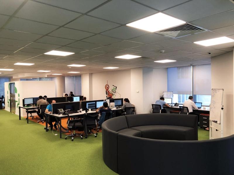 Unibank İT və Digital İnnovasiyalar Mərkəzini istifadəyə verib (FOTO)