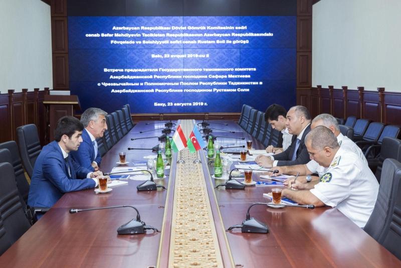 Tacikistan Azərbaycan gömrük xidmətinin təcrübəsindən yararlanmaqda maraqlıdır